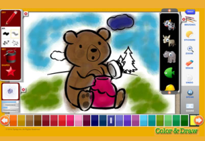 color and draw