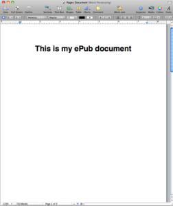 epub pages