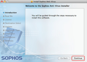 sophos installer