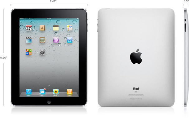 ipad specifications