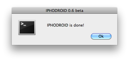 iPhoDroid done