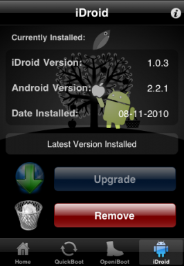 Android on iPhone Bootlace
