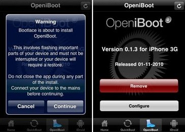 Android for iPhone bootlace