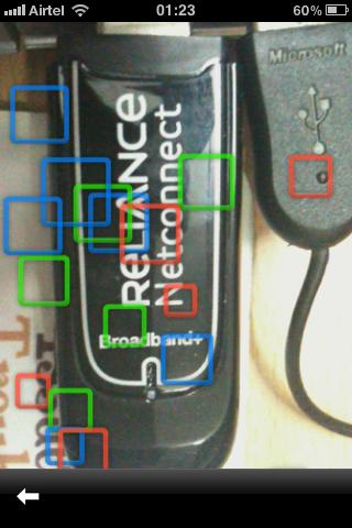 google goggles detecting device