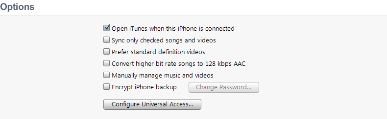 How to encrypt iPhone Backup