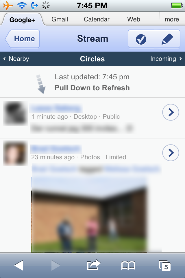 Google+ (Google Plus) for iPhone, iPad, iPod Touch – iOS Devices