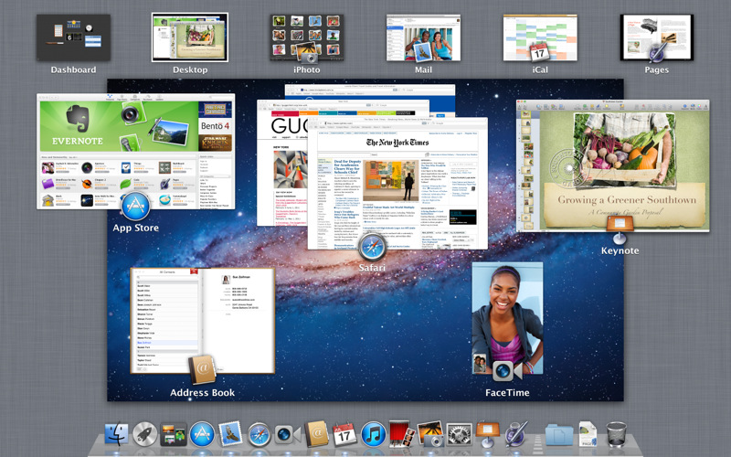 mac os x lion home