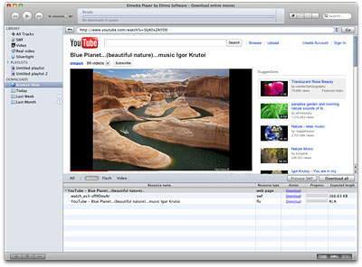Flash Video Player & Downloader for Mac OS X – Elmedia Player