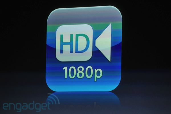 apple iphone 4s camera video recording