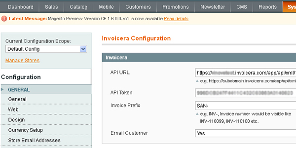 invoicera magento extension