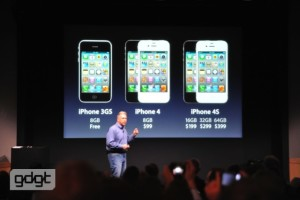 Apple iPhone 4S, iPhone 4, iPhone 3GS Prices & Launch Date