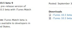 Download iTunes 10.5 Beta 9 for Windows and Mac OS (Direct Download Link)