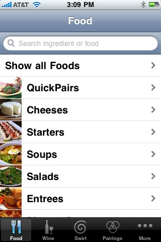 pair it wine and food app
