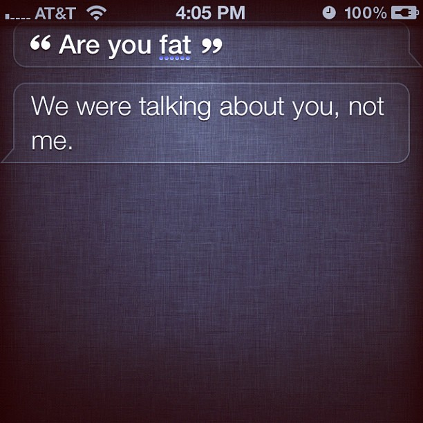 The Best Polite, Funny and Serious Answers by Siri on iPhone 4S