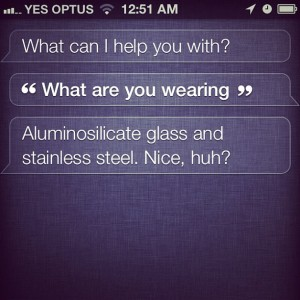 siri what are you wearing
