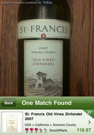 snooth wine pro iphone app