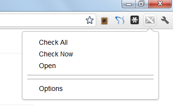 Gmail, Yahoo Mail, Hotmail, AOL Mail Notification Extension for Google Chrome