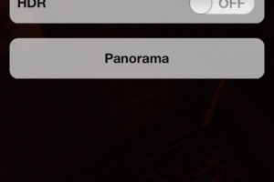 How to Unlock and Use Panorama Feature in iPhone Camera App – iOS 5