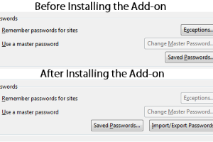 How to Backup & Restore Saved Passwords from Firefox browser