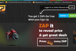 ZapStore – Online Gadget Shoppe with a Unique Concept – Review