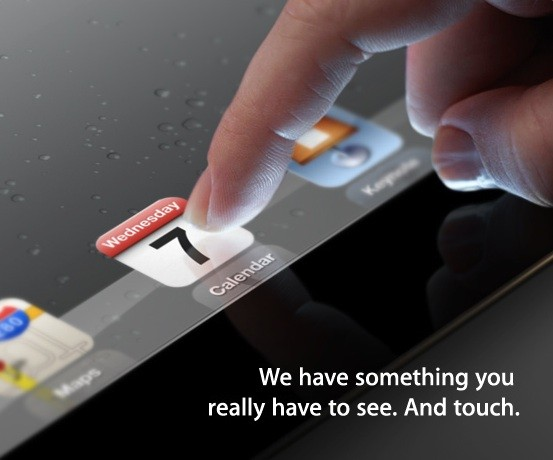 March 7th – Apple event for the next iPad confirmed