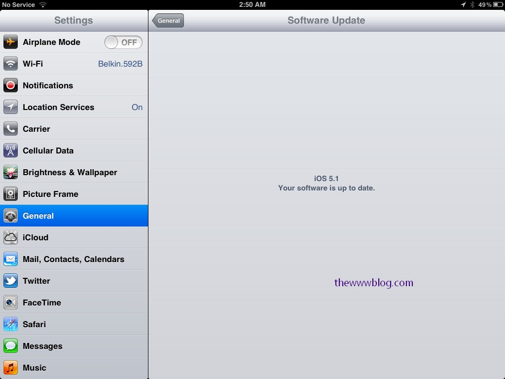 iOS 5.1 updated