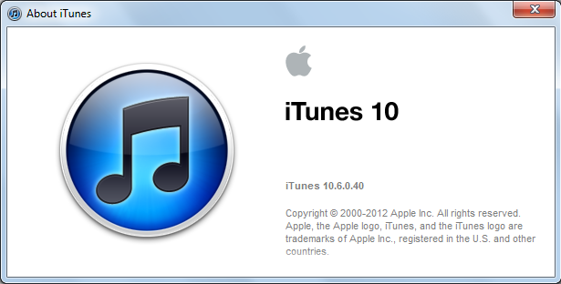 Update Apple iTunes to iTunes 10.6 version – Download links