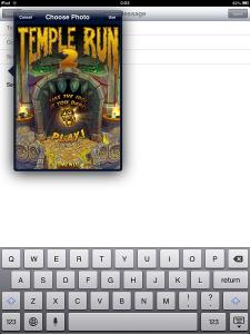 iOS Attach Photo from Photo Stream