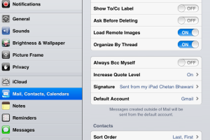 [iOS How-to] Setup Multiple Email Signatures in iOS 6 Devices – iPhone, iPod Touch, iPad