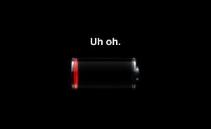 iOS battery draining