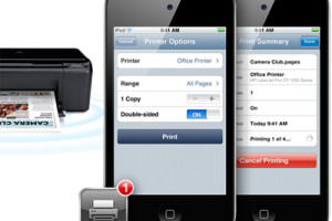 [How-to] Print from Apple iPad, iPhone and iPod Touch – Using the Airprint Feature