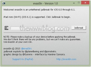 How to Jailbreak iPhone 5, 4S, 4, iPad, iPad Mini and iPod Touch with iOS 6.1 – Evasi0n Tutorial