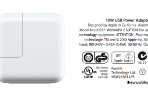 USB Power Adapter for Apple Devices – Identify the Right Adapter for your iPhone, iPad