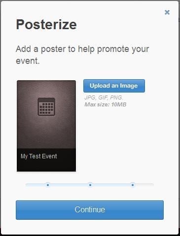 Add Poster Livestream