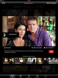 BBC iPlayer iPad App