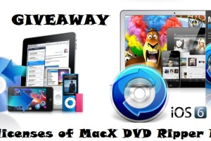 Giveaway: MacX DVD Ripper Pro for Windows & Mac – 10 Licences