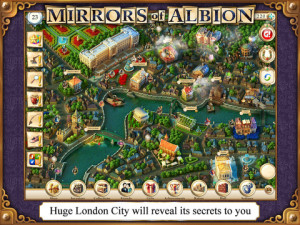 Mirrors of Albion iPad Game