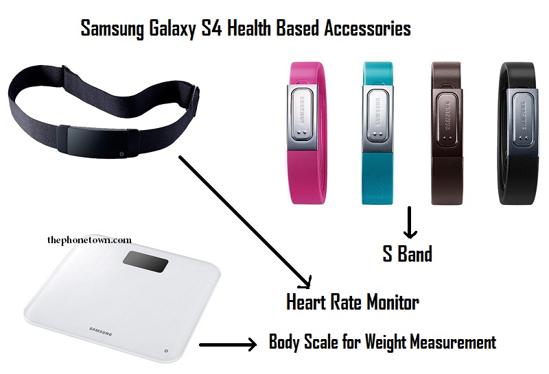 Samsung Galaxy S4 Health Accessories