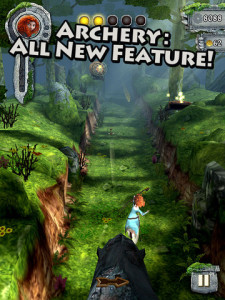 Temple Run Brave iPad Game