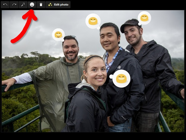 Google Photos Emoticons