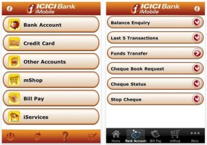 ICICI Mobile Banking App