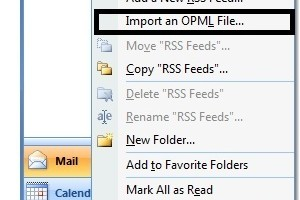 [How-to] Transfer Feeds & Subscriptions from Google Reader to Microsoft Outlook in Windows