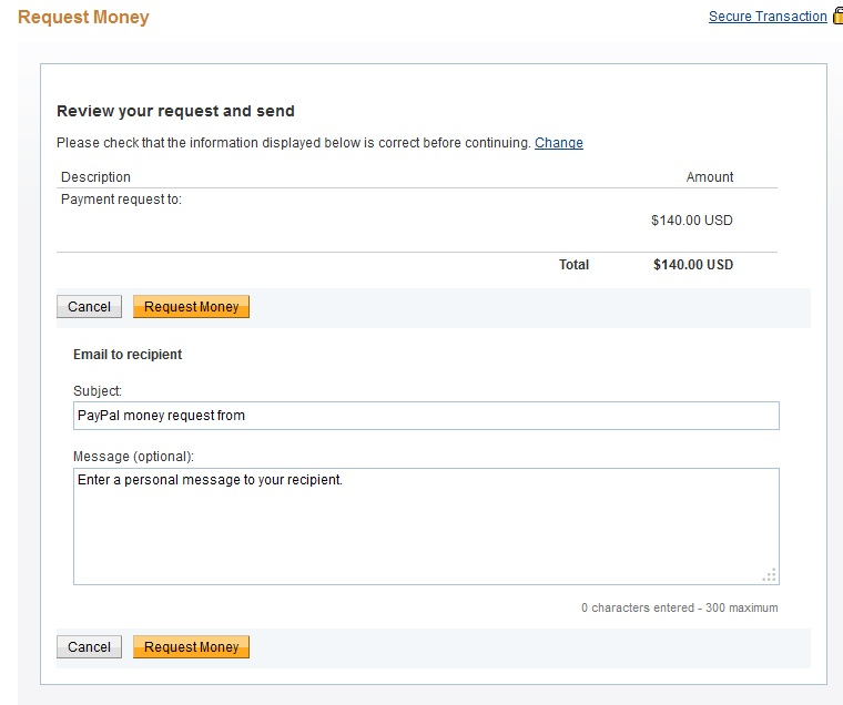 Paypal Review Request 3
