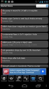 Stock Watch Android App News