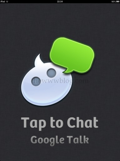 Tap to Chat iPad App Home