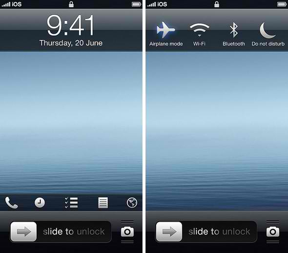 iOS 7 Interface