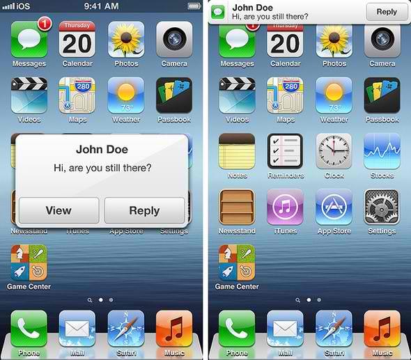 iOS 7 Push Notifications