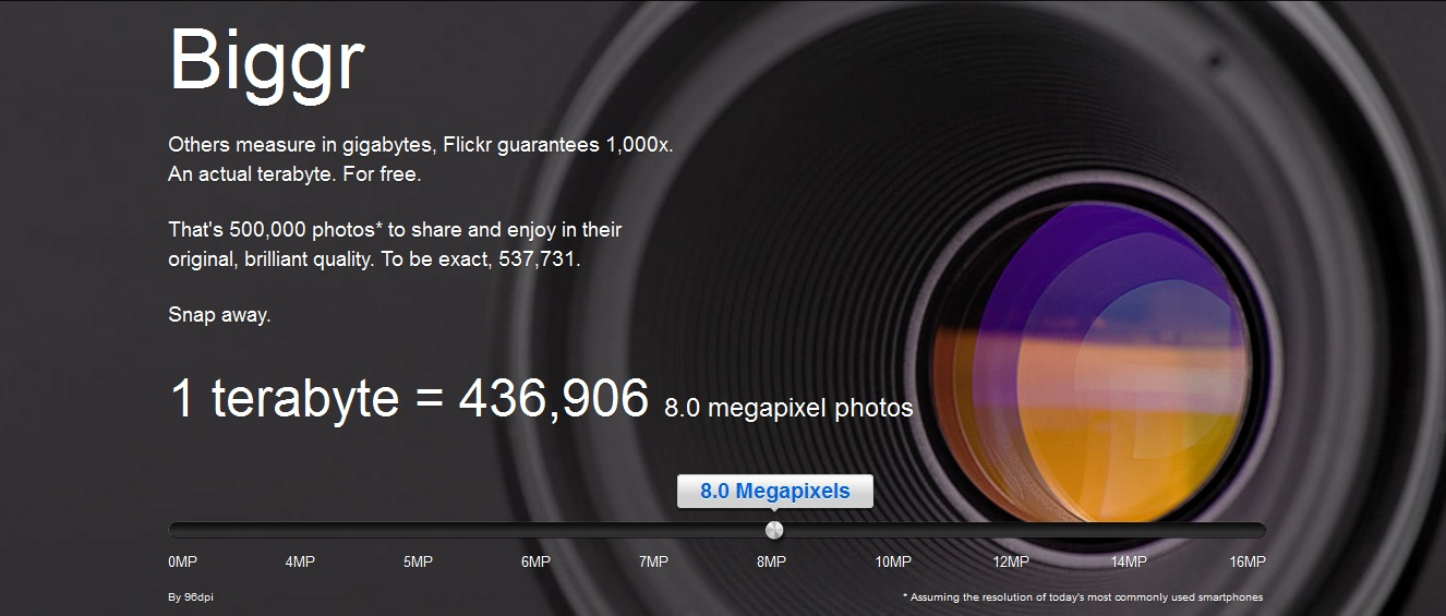 Flickr Biggr