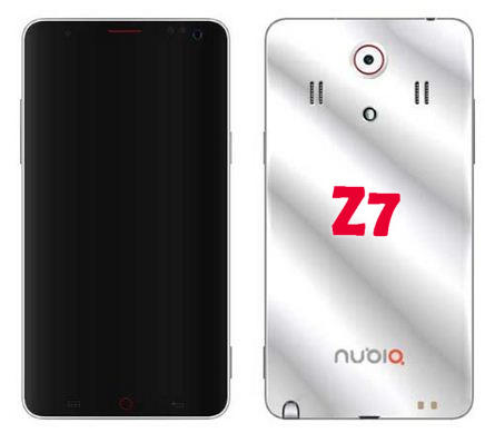 ZTE Nubia Z7 Rumored Specs – 6.3-inch Screen, 4GB RAM, 4000 mAh Battery