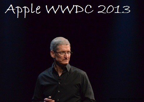 Apple WWDC 2013 Event Highlights – Mac OS X Mavericks, Mac Air, iOS 7